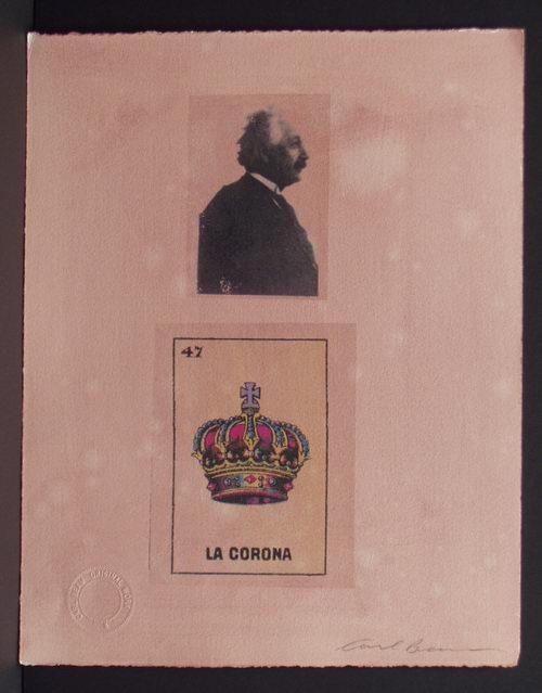 Carl Beam - Einstein and La Corona