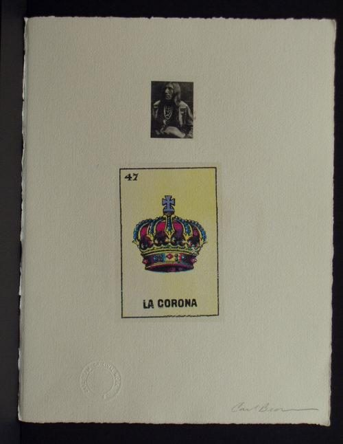 Carl Beam - Native Chief/La Corona