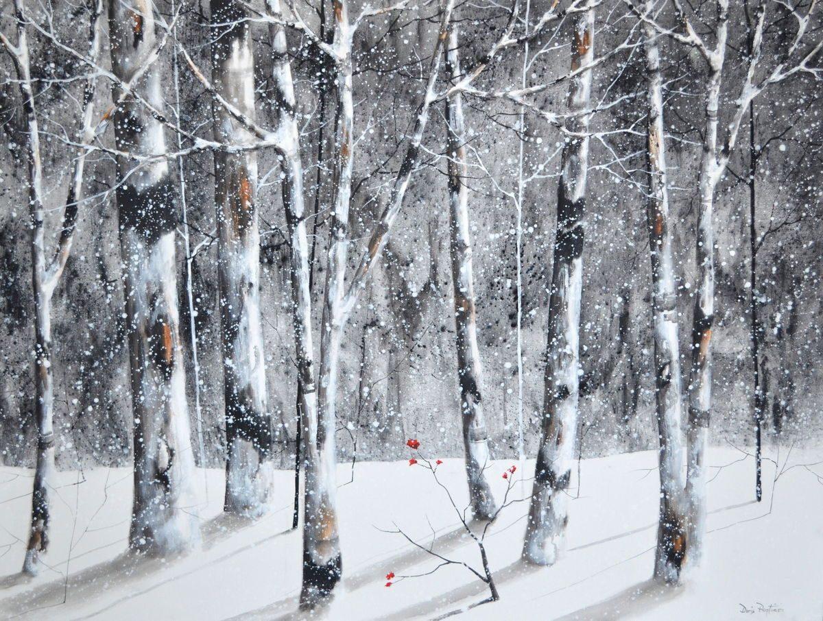 Doris Pontieri - Silver Birches in Winter