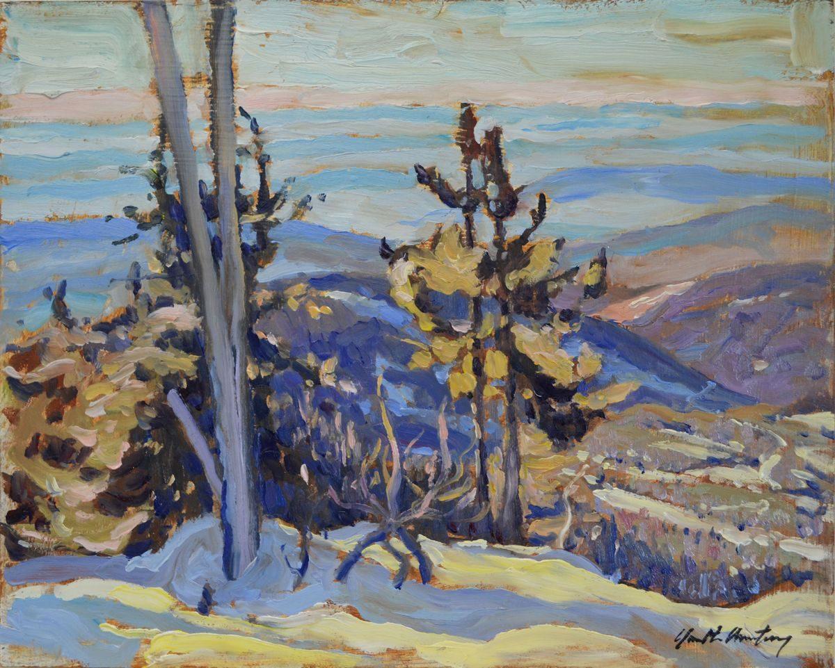 Garth Armstrong - Purple Hills