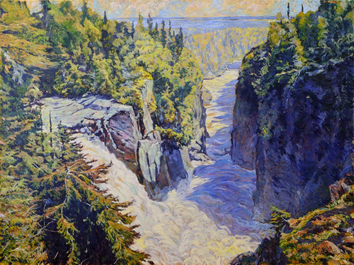 Garth Armstrong - Aguasabon Falls, Near Superior