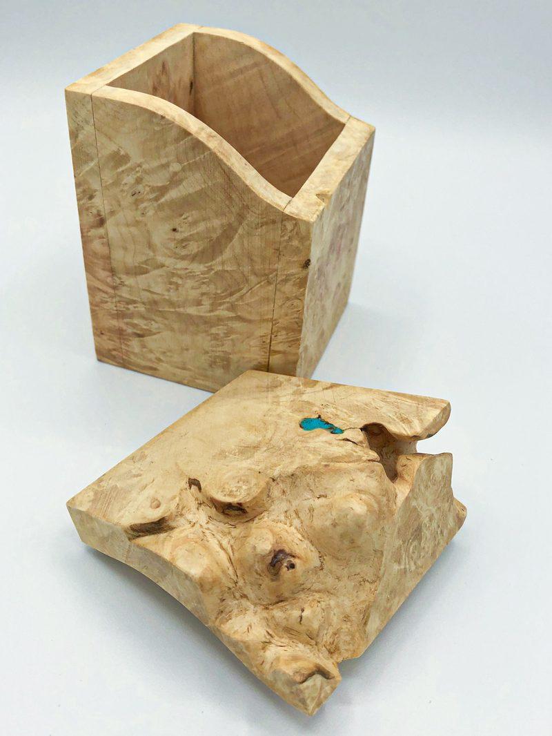 Ian MacDonald - Set of 2 tall boxes