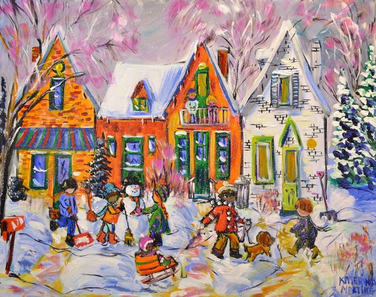 Katerina Mertikas - It's a Winter Holiday