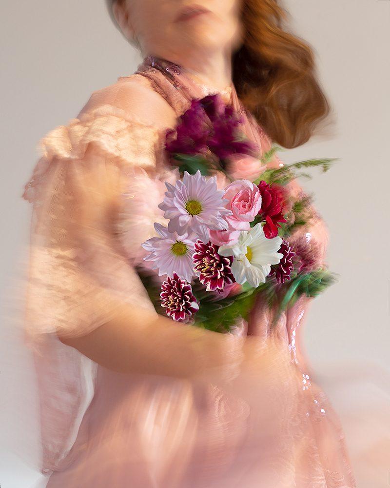 Lora Moore - Stop & Smell the Flowers Señorita #17