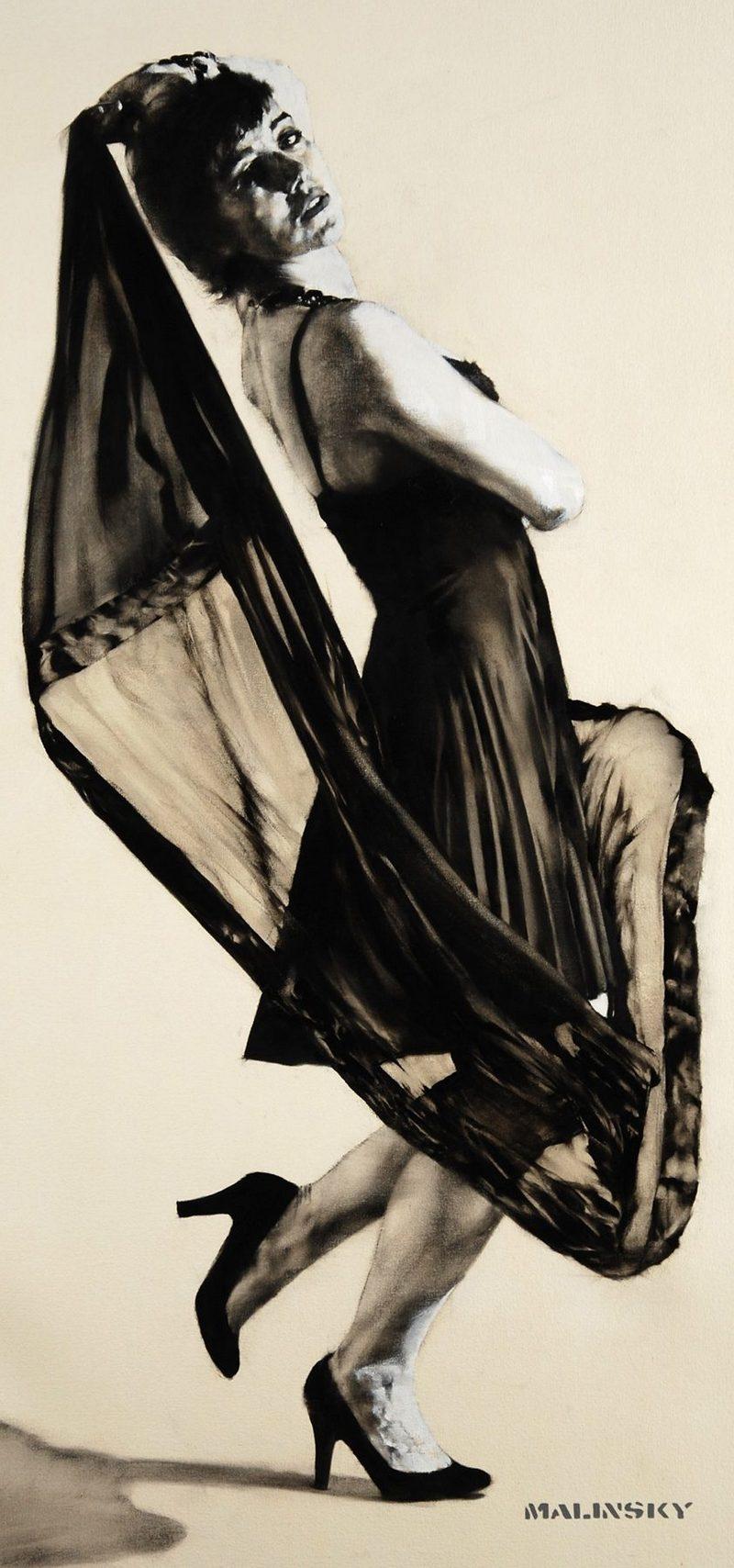 Charles Malinsky - Jesse, Cocktail Dress & Wrap