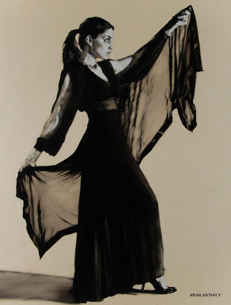 Charles Malinsky - Claudia, Evening Dress & Wrap