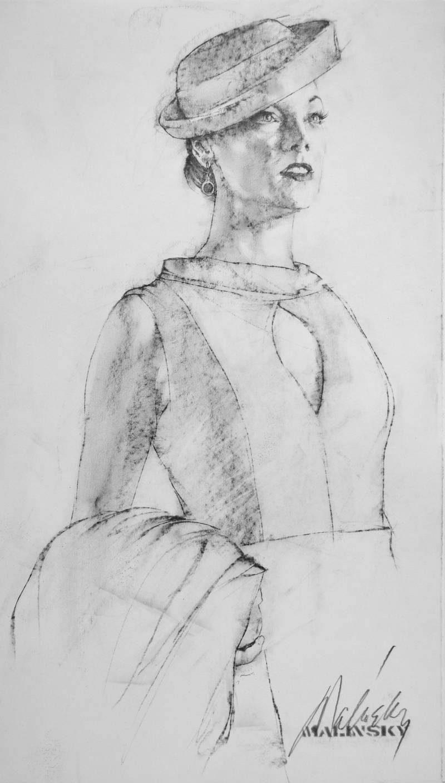 Charles Malinsky - Drawing