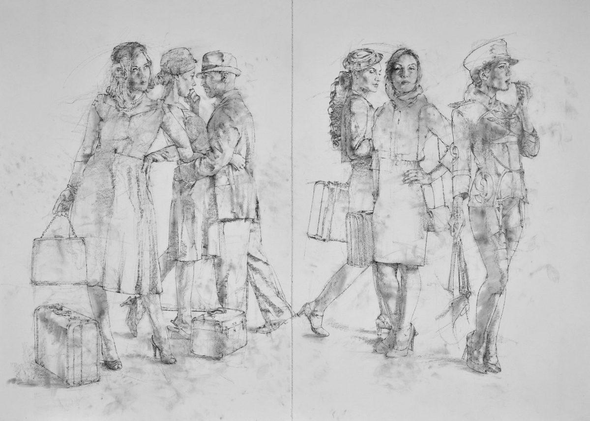 Charles Malinsky - 2 Piece Study