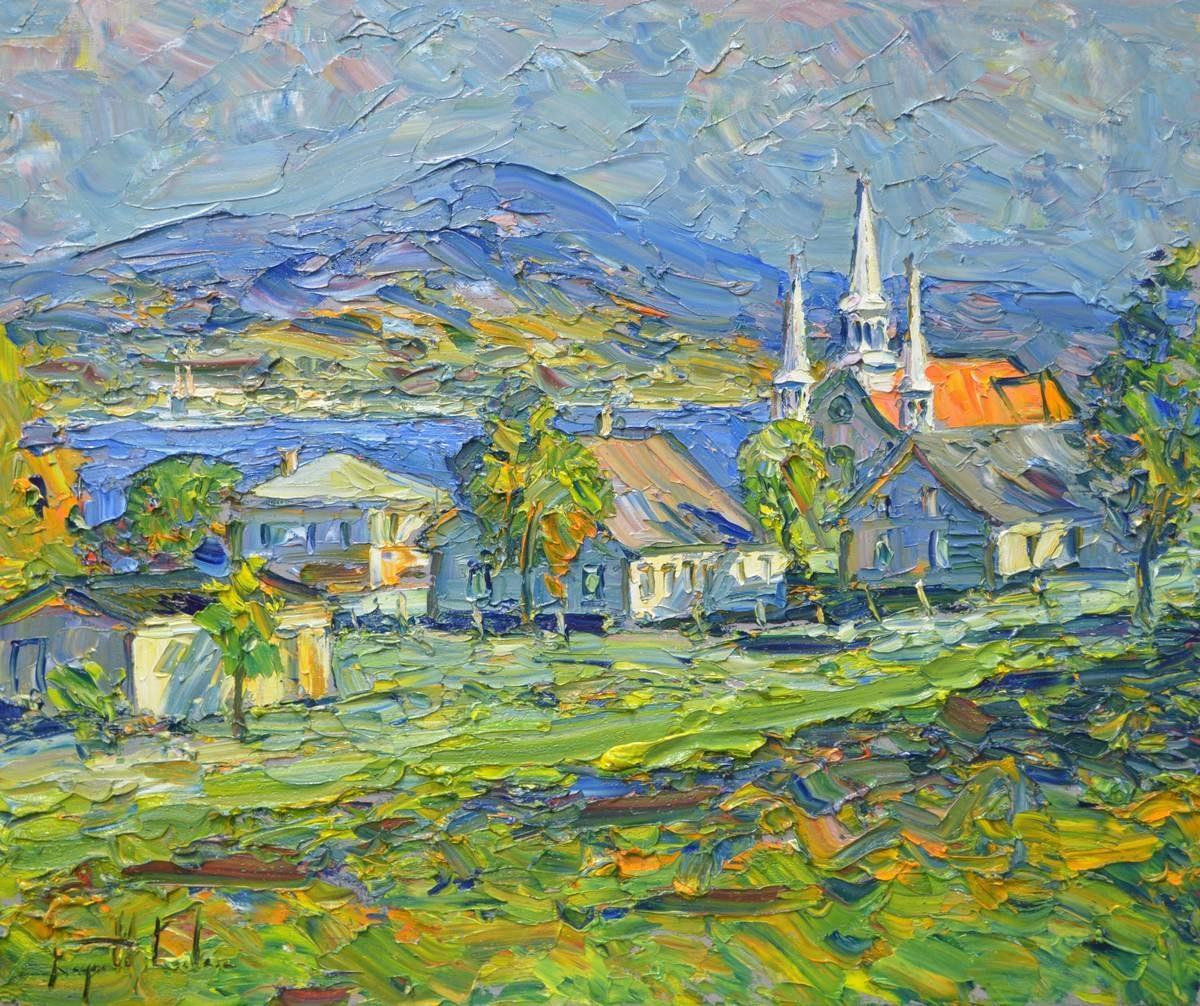 Raynald Leclerc - L'Eglise aux Trois Clochers Saint-Famille, Ile d'Orleans