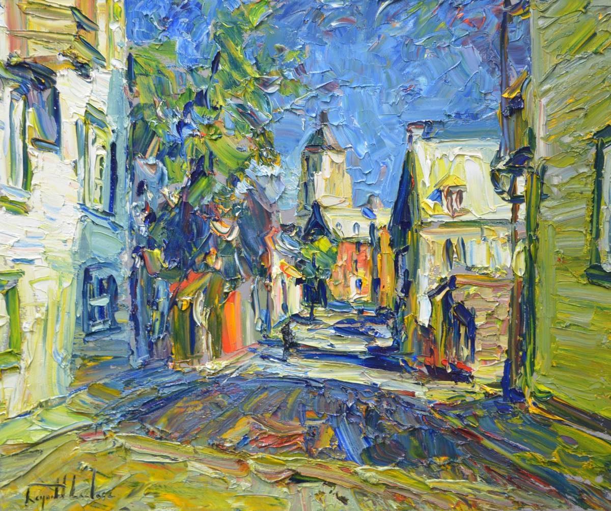Raynald Leclerc - Soleil du Matin, Sur la Rue des Grisons, Vieux Québec