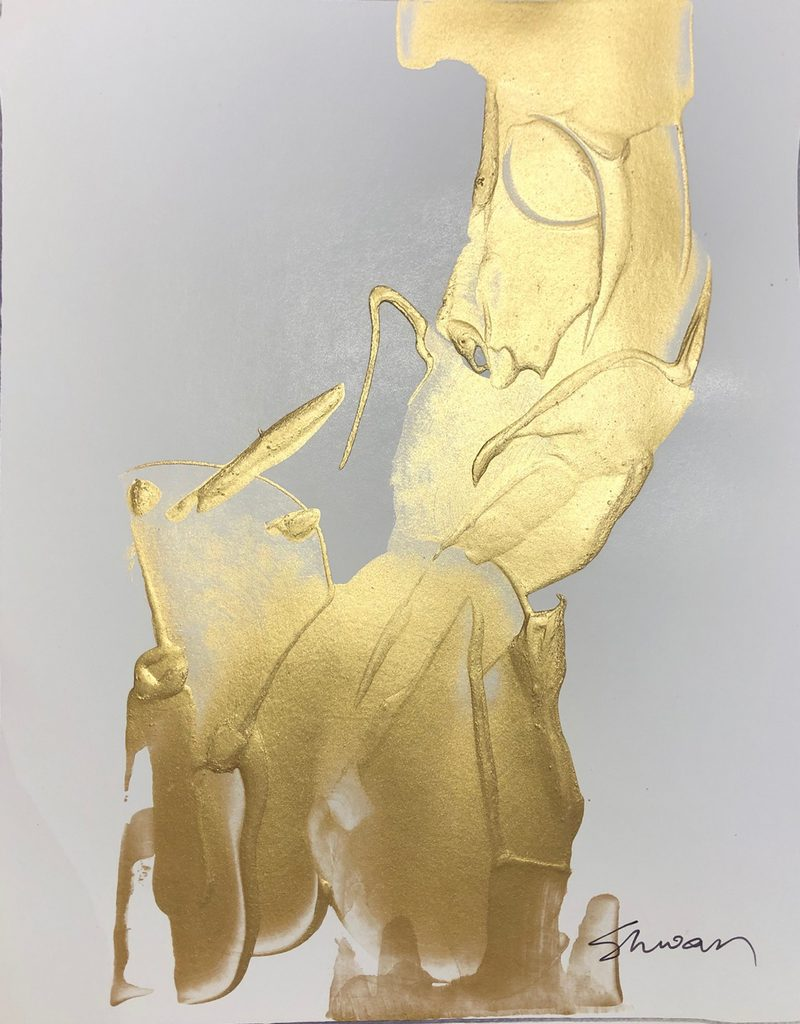 Shwan Dilorenzo - Gold Abstract