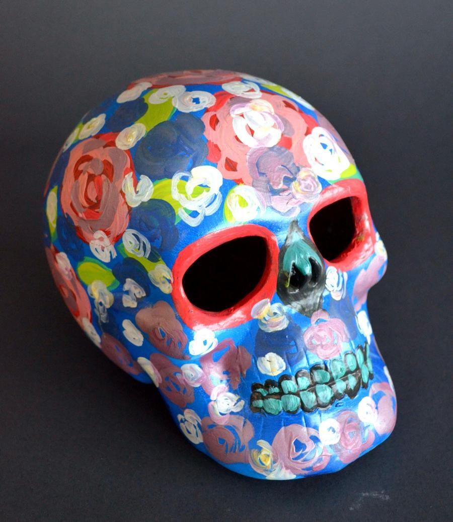 Toller Cranston Estate - Skull