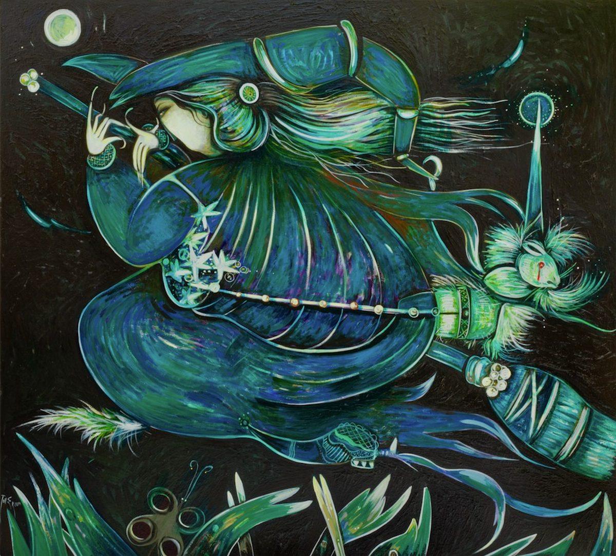 Toller Cranston - Blue Witch (2014)