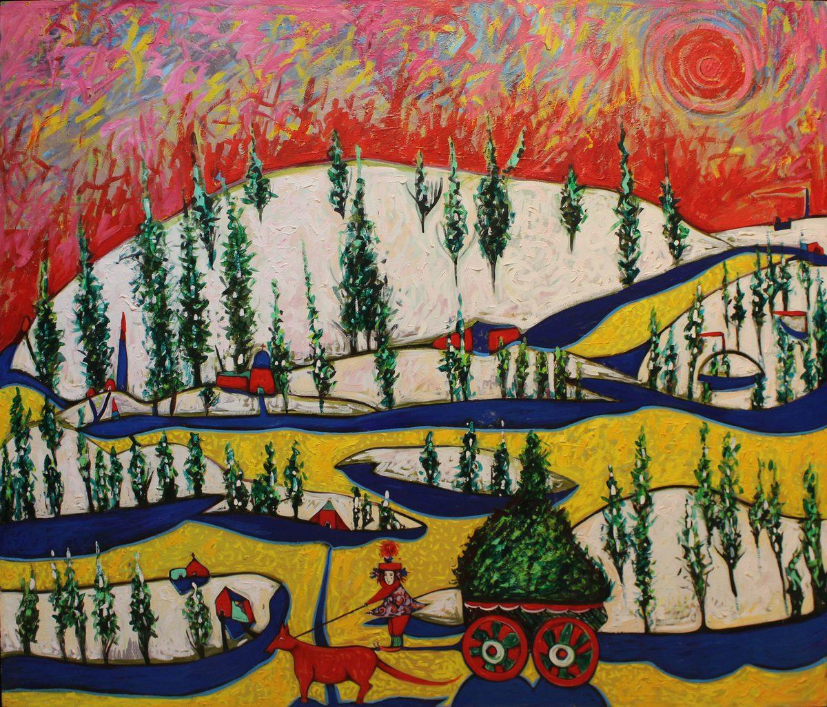 Toller Cranston - The Tree Cart