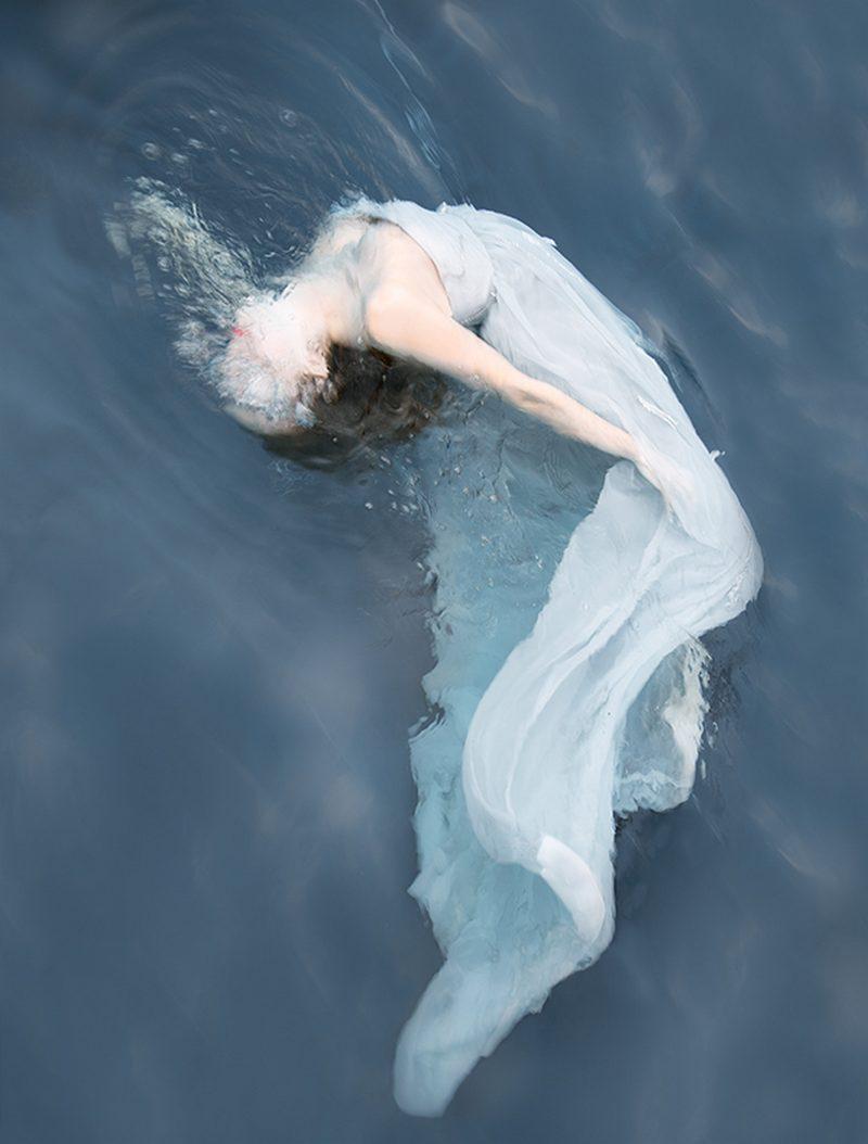 Lora Moore-Kakaletris - L'Eau Bleu #10