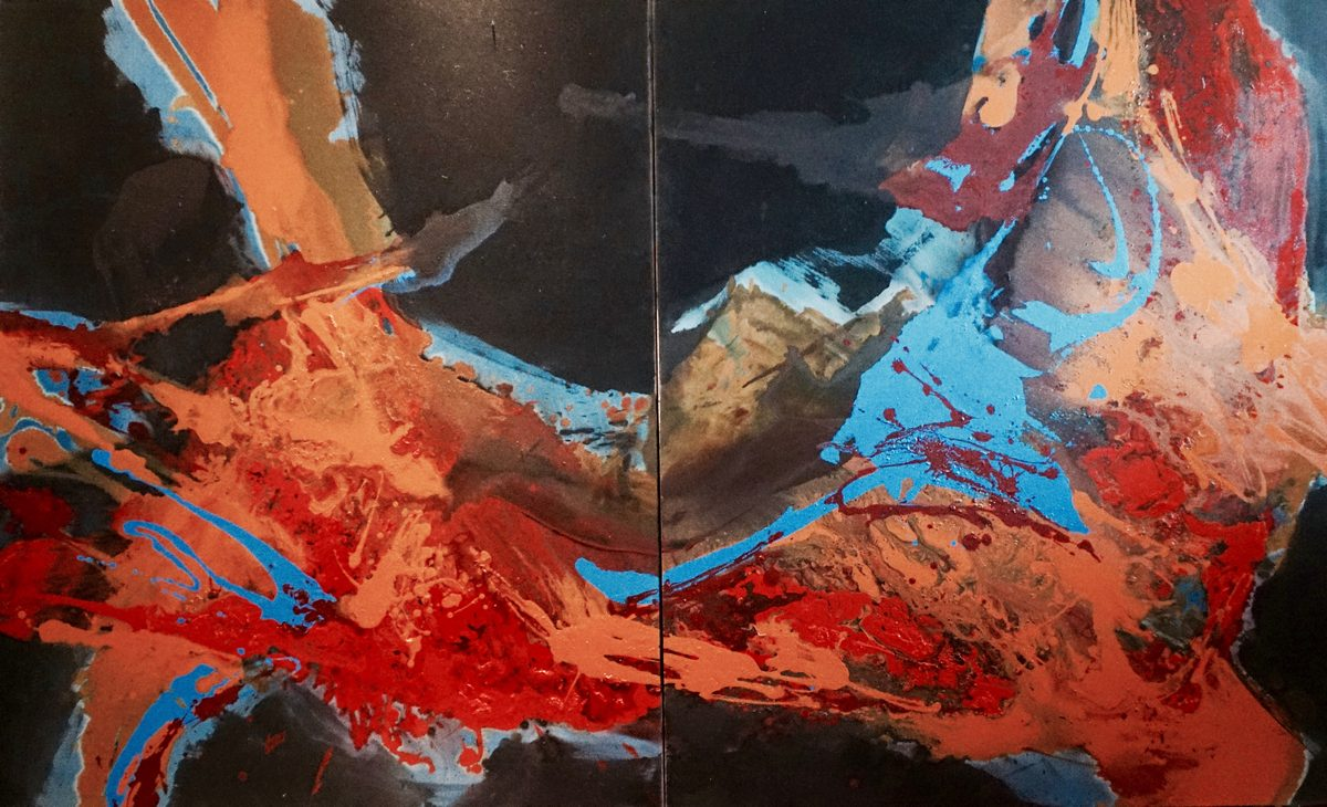 Lila Lewis Irving - Boundless Energy (diptych)