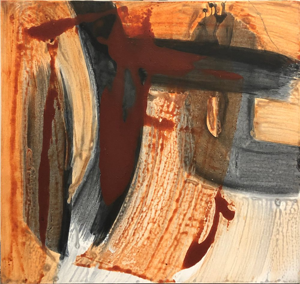 Lila Lewis Irving - Dark Orange Thrust